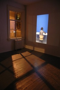 let me occupy your mind_video installation